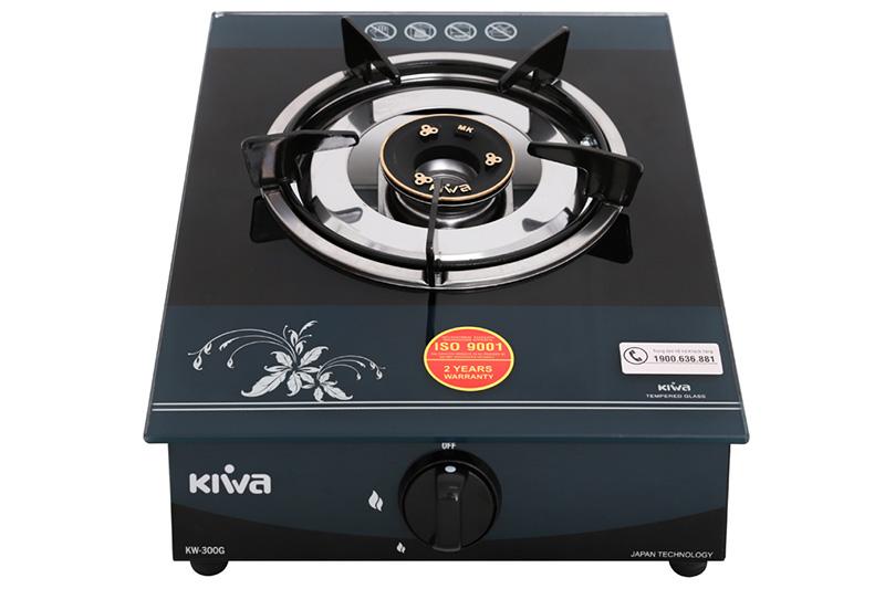 Kiểu dáng - Bếp gas đơn Kiwa KW-300G