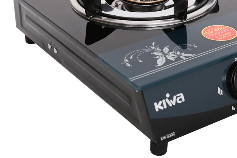 Mặt kính cường lực - Bếp gas đơn Kiwa KW-300G