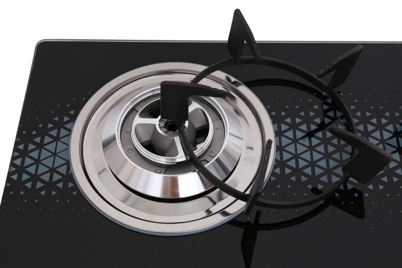 Kiềng bếp bằng gang bền bỉ - Bếp gas đôi Sunhouse SHB3819MT
