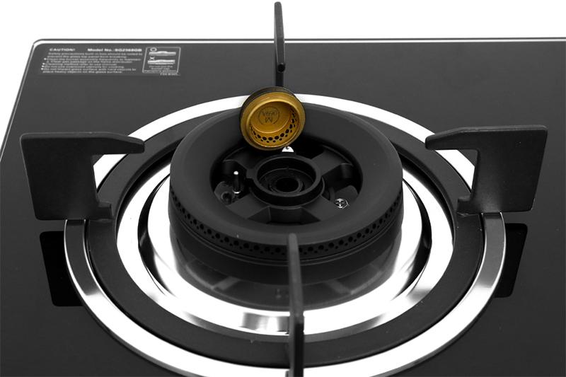 Bếp gas âm Sakura SG-2568GB - đầu đốt hợp kim nhôm