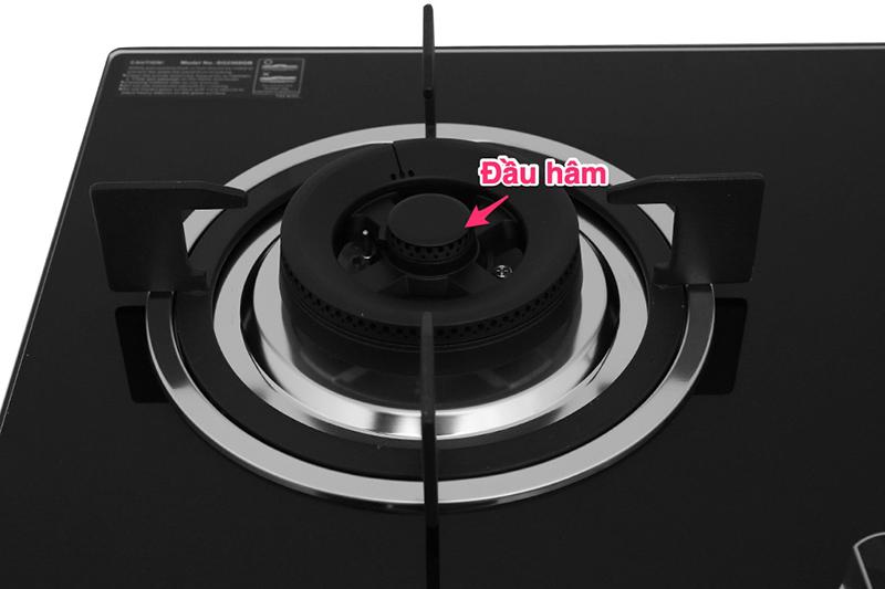 Bếp gas âm Sakura SG-2568GB   - đầu hâm
