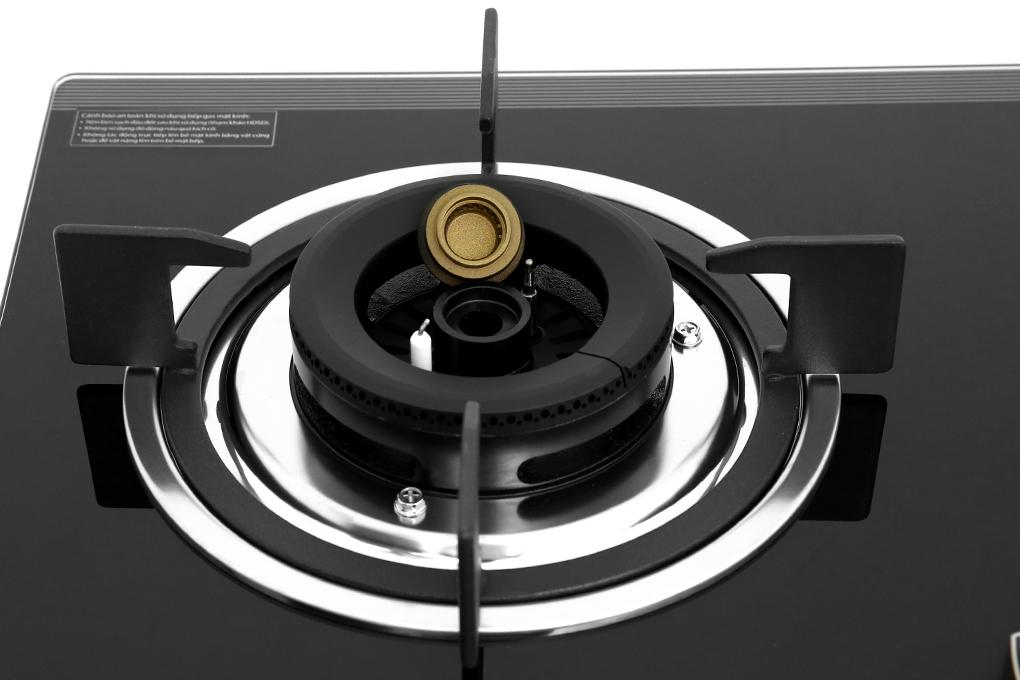 Đầu hâm cho phép bạn hâm nóng thức ăn với lửa nhỏ dễ dàng - Bếp gas âm Sakura SG-2530GB