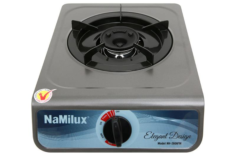 Mặt bếp kim loại sơn tĩnh điện - Bếp gas đơn Namilux NH-260AFM
