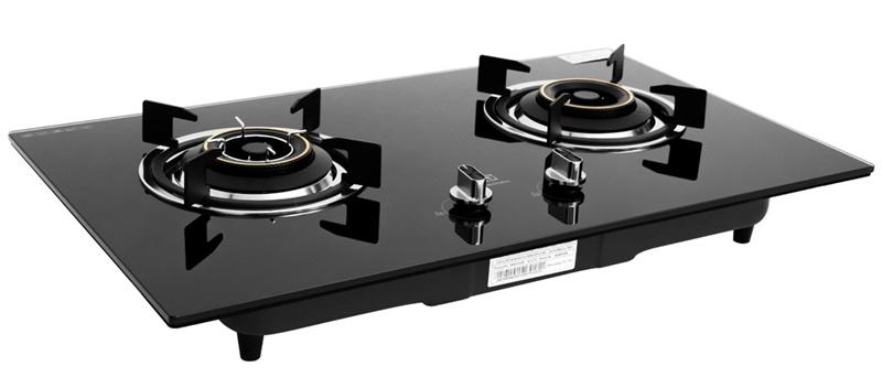 Mặt bếp gas phủ kính cường lực cao cấp - Bếp gas âm Electrolux EHG723BA