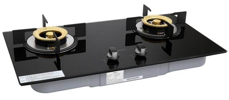 Chất liệu kính cường lực cao cấp - Bếp gas âm Midea MQ7208-G