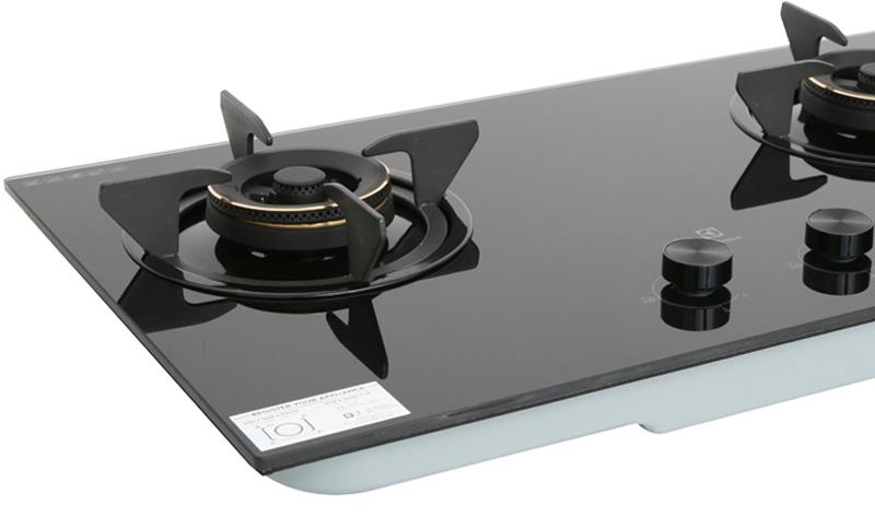 Mặt kính cường lực - Bếp gas âm Electrolux EHG7230BE