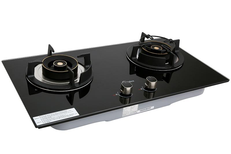 Mặt kính bền tốt - Bếp gas âm Midea MQ7630-G