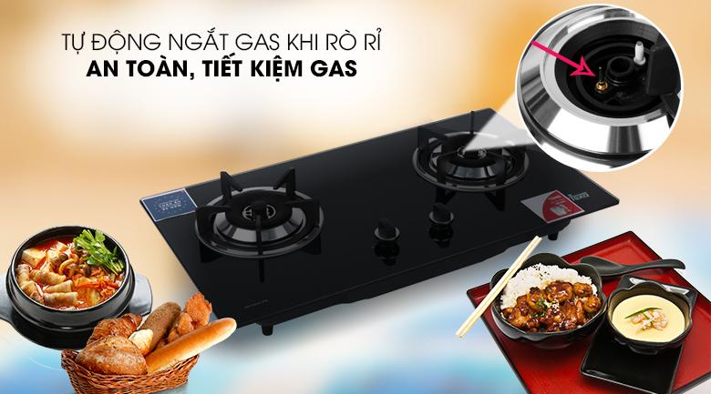 Ngắt gas an toàn - Bếp gas âm TEKA GS 73 AI AL 2TR