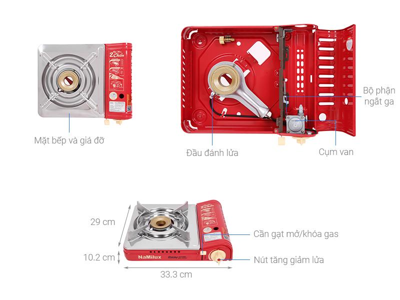 Bếp gas mini Namilux NH-P2915PS