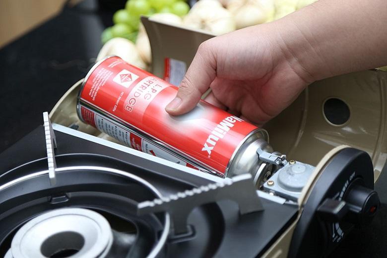 Bếp có công suất 2.6kw/h tạo ra ngọn lửa có năng lượng cao