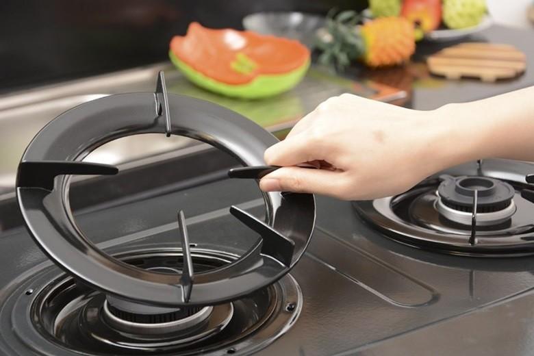 Kiềng bếp gas 5 chân, giữ thăng bằng tốt cho dụng cụ nấu đặt trên bếp