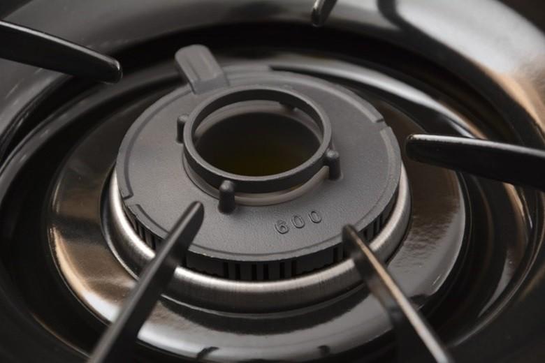 Đầu đốt bếp gas bằng đồng thau nấu ăn tiết kiệm gas