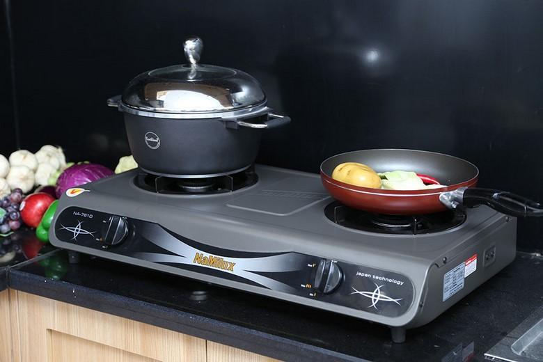 Thiết kế với 2 lò nấu giúp nấu ăn nhanh hơn