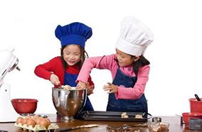 Khóa trẻ em và hẹn giờ nấu