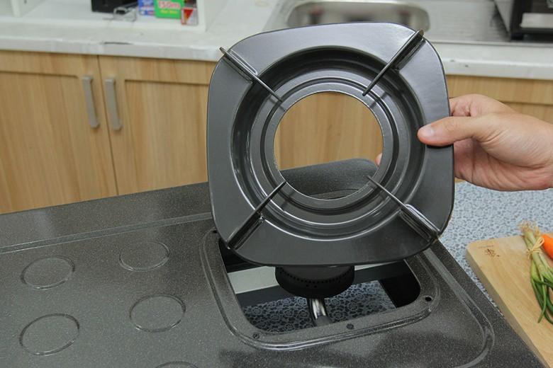 Kiềng bếp thiết kế chắc chắn, dễ tháo lắp