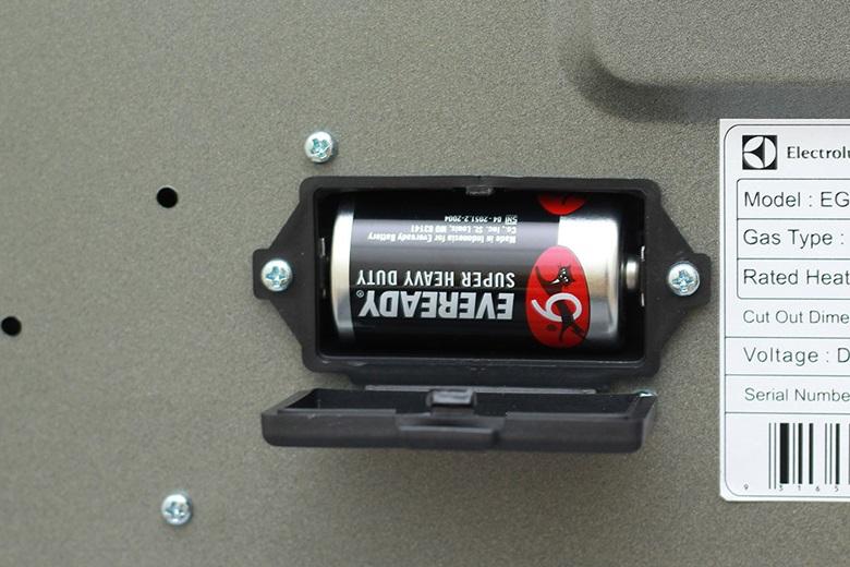 Đánh lửa IC dùng pin 1.5 V tiện thay thế khi hết pin