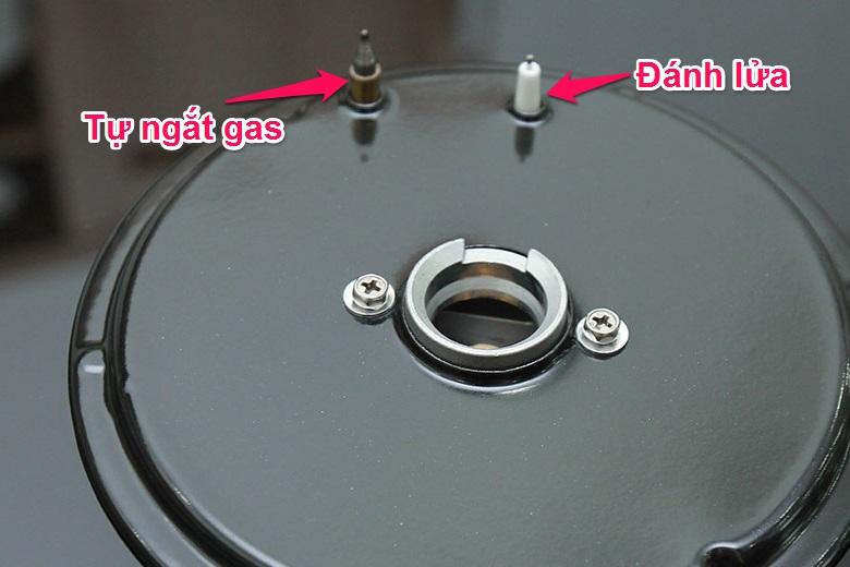 Bảo vệ người dùng với tính năng tự ngắt gas an toàn