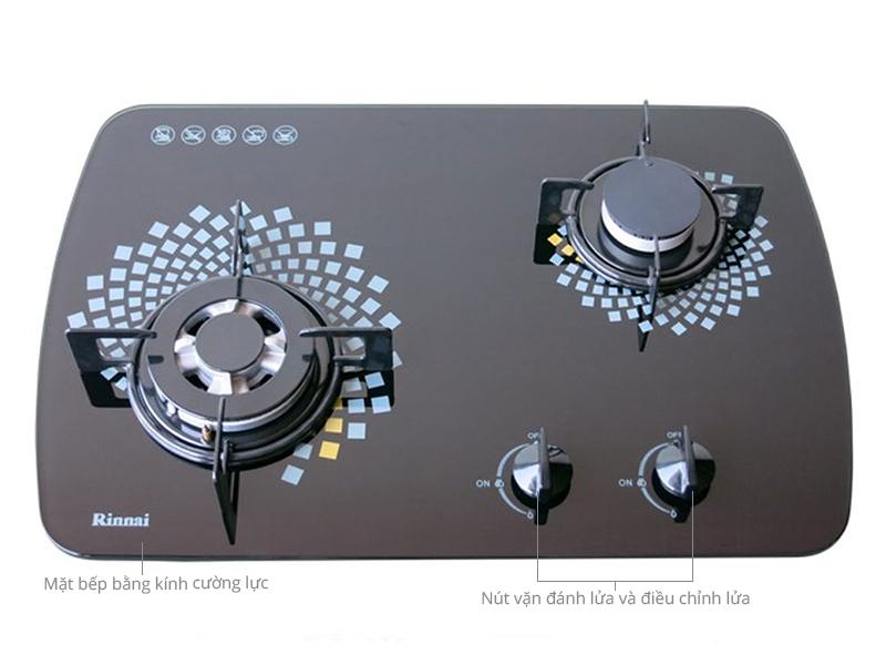 Thông số kỹ thuật Bếp gas âm Rinnai RVB-6SDR(L)