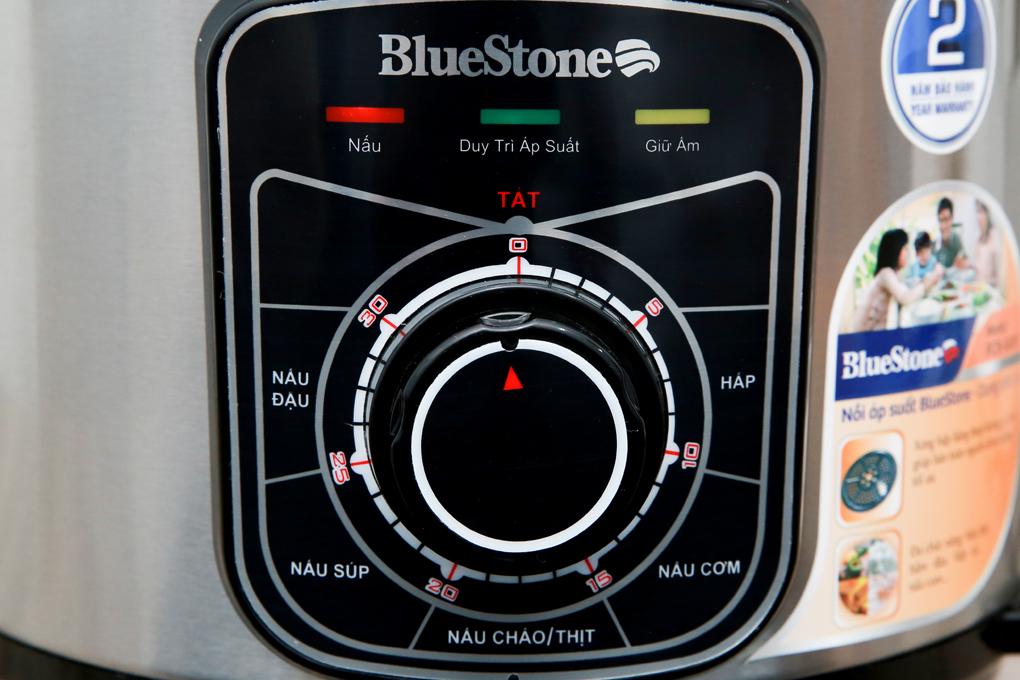 Bảng điều khiển núm vặn tiện thao tác - Nồi áp suất điện BlueStone PCB-5619 5 lít