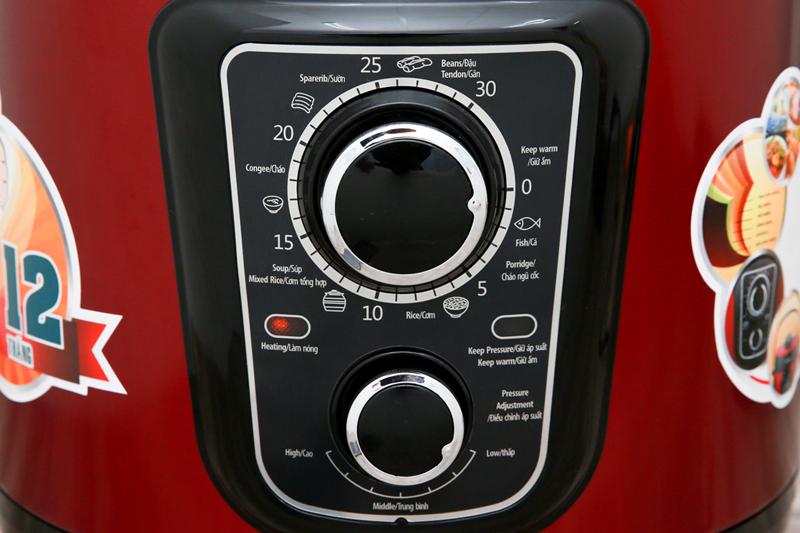 Dễ hiểu, dễ dùng - Nồi áp suất điện đa năng Sunhouse SHD1669