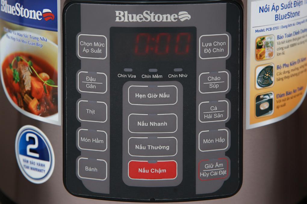 Nồi áp suất Bluestone PCB-5755 - Thiết kế nhiều chức năng