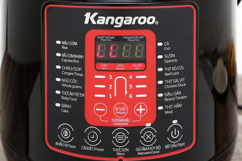 Hiện đại dễ dùng - Nồi áp suất Kangaroo KG6P2 6 lít