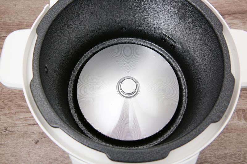 Mâm nhiệt lớn nấu ăn nhanh -  Nồi áp suất điện Supor CYSB50YC10DVN-100 5 lít