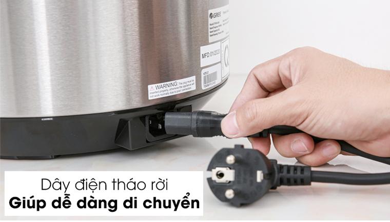 dây điện tháo rời dễ bảo quản