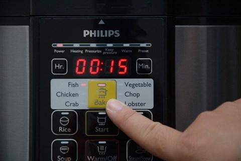 Nồi áp suất điện tử Philips HD2136, 5.0 lít