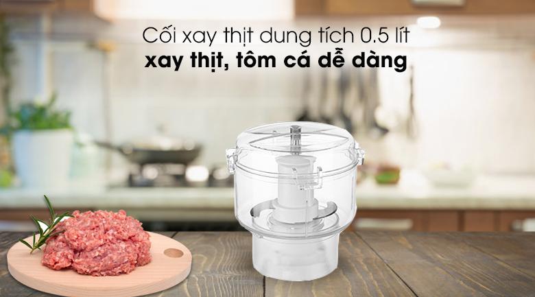 Máy xay sinh tố Kangaroo KG3B2 - Cối xay thịt dung tích 0.5 lít