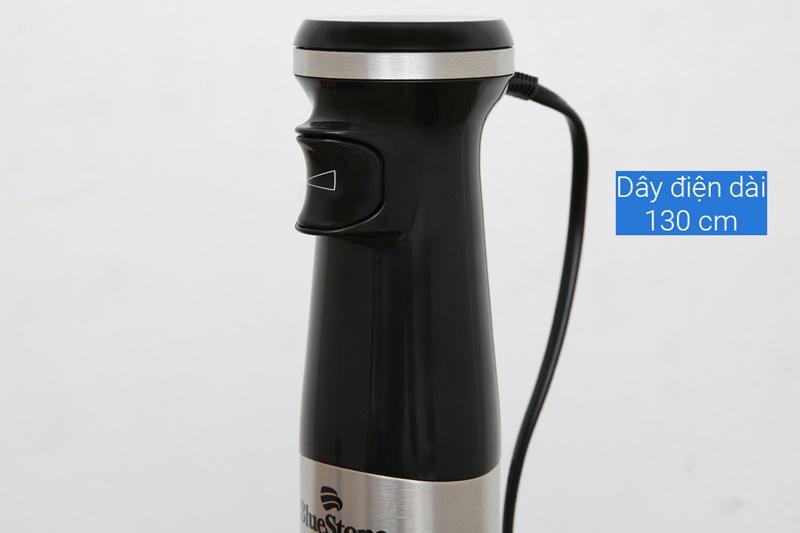 Thiết kế 1 nút nhấn trên thân máy dễ thao tác - Máy xay sinh tố cầm tay Bluestone BLB5268