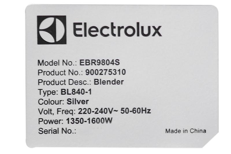 Máy xay sinh tố đa năng Electrolux EBR9804S-2
