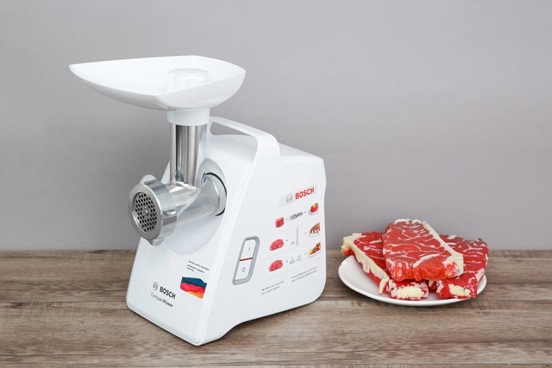 Thiết kế đẹp - Máy xay thịt Bosch HMH-MFW3520W 500W