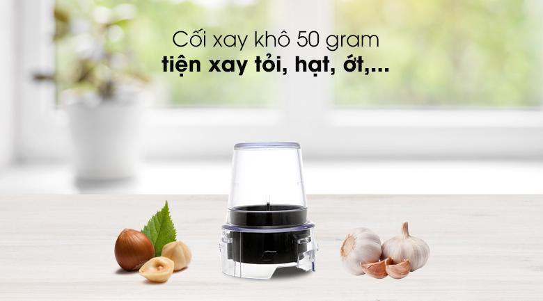 Máy xay sinh tố Panasonic MX-EX1561WRA - Cối xay khô chỉ 50 gram