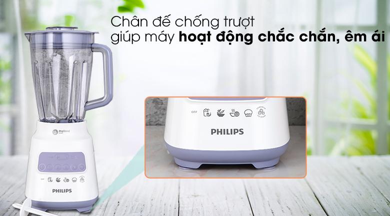 Chân đế chống trượt - Máy xay sinh tố Philips HR2221/00