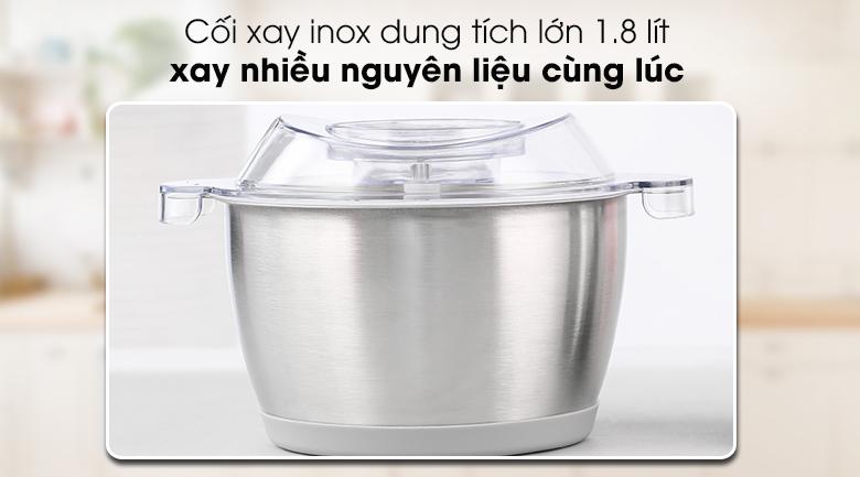 Máy xay thịt Mishio MK-157 - Cối xay dung tích 1.8 lít