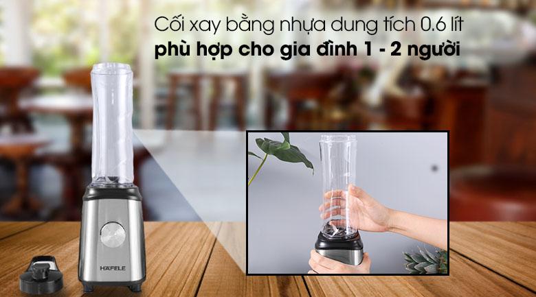 Dung tích - Máy xay sinh tố mini Hafele GS-621