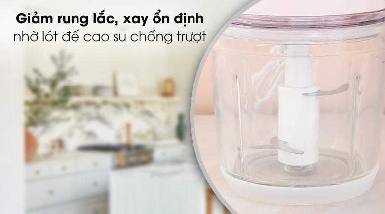 Máy xay thịt Midea MJ-BC200G - Chất liệu cối xay 0.6 lít bằng thủy tinh