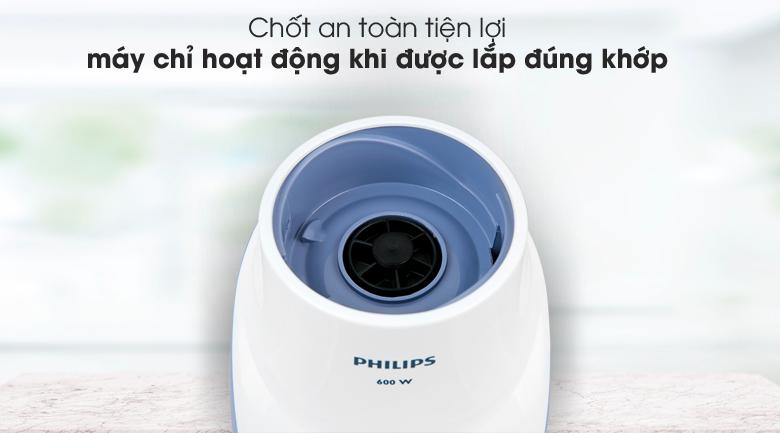 Hoạt động an toàn - Máy xay sinh tố Philips HR2116