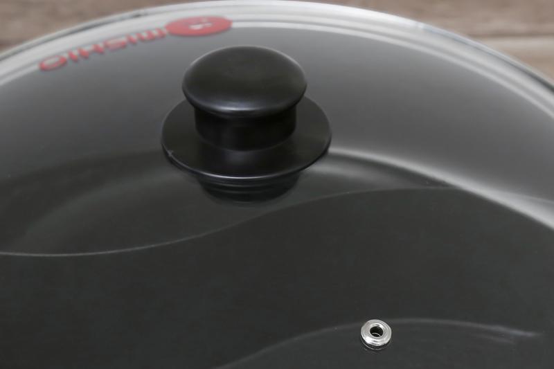 Nắp kính - Nồi lẩu điện Mishio MK-112