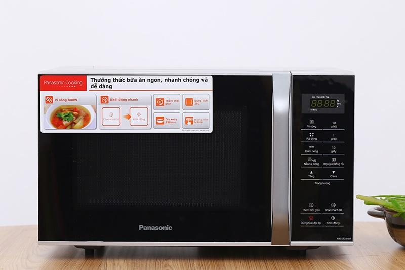 Lò vi sóng Panasonic 25 lít NN-ST34HMYUE
