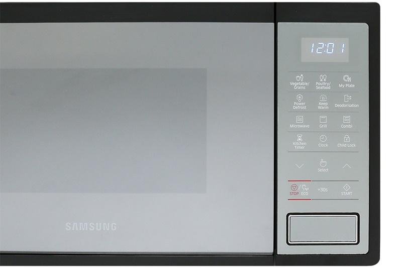 Bảng điều khiển cảm ứng - Lò vi sóng Samsung MG23J5133AM/SV-N