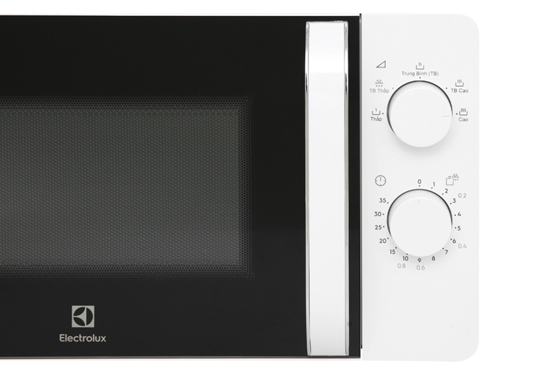 Điều khiển núm vặn  - Lò vi sóng Electrolux EMM20K18GW 20 lít