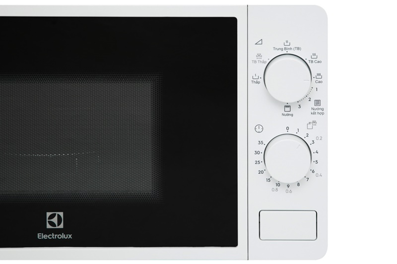 Bảng điều khiển - Lò vi sóng Electrolux EMG20K38GWP 20 lít