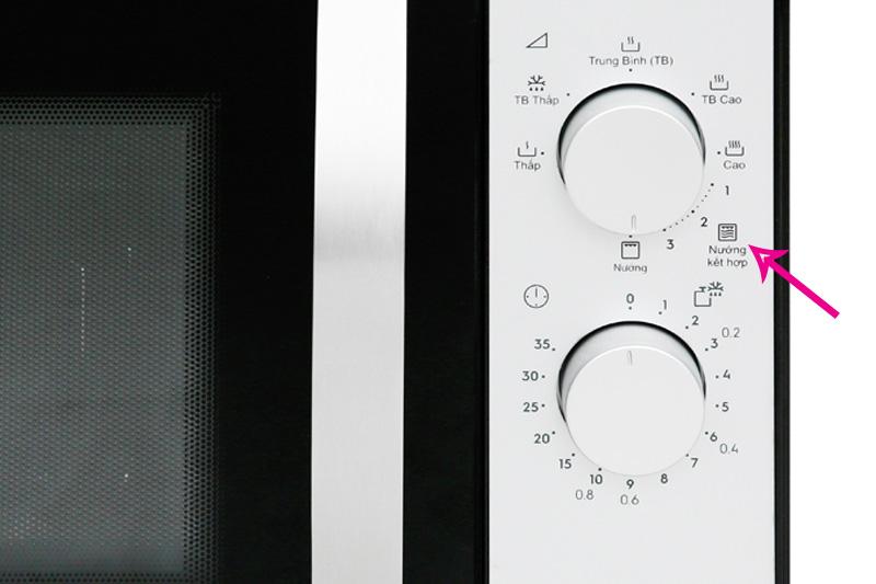 Đa chức năng nấu - Lò vi sóng Electrolux EMG23K38GB 23 lít