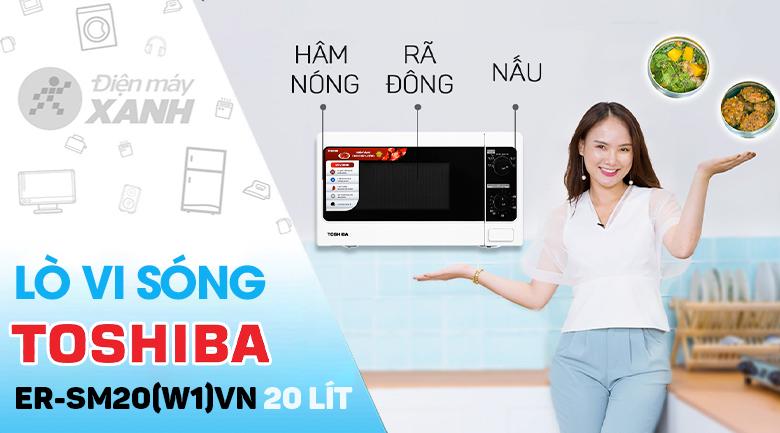 Lò vi sóng Toshiba ER-SM20(W1)VN 20 lít