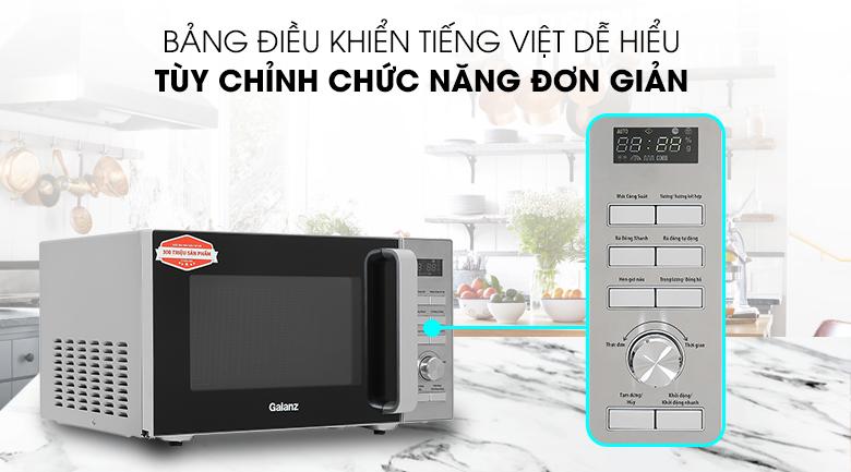 Bảng điều khiển Lò vi sóng Galanz D90D25ETL-ZWA 25 lít