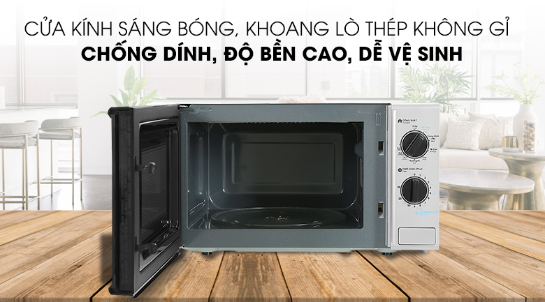 Khaong Lò vi sóng R-G225VN-BK 20 lít