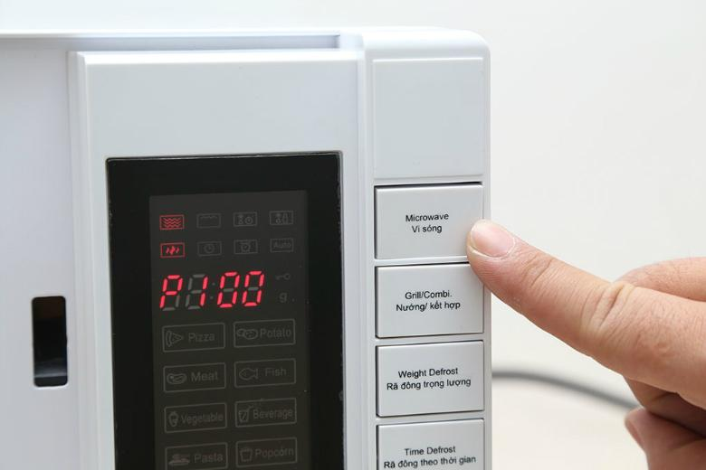Tùy chỉnh thời gian và công suất nấu ăn một cách chính xác