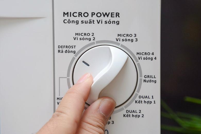 Núm xoay với các thông tin miêu tả chi tiết bằng tiếng Việt dễ sử dụng